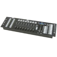 QTX DM-X10 192 Channel DMX LED Lighting Controller Band Stage Light Show Control